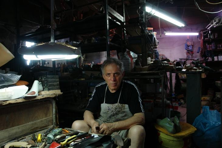 Il calzolaio Alfredo Bigi - The shoemaker Alfredo Bigi